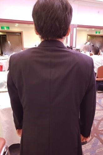 スーツのサイズ感